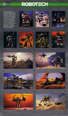 Robotech Defenders Ad (Side 1)